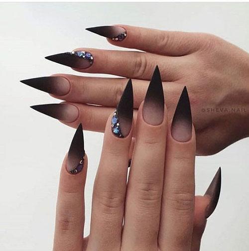 Long Stiletto Nail Designs-9