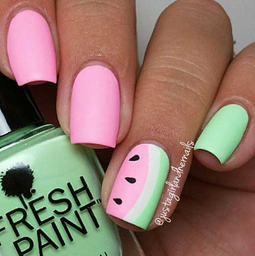 Easy Summer Nail Designs for Short Nails