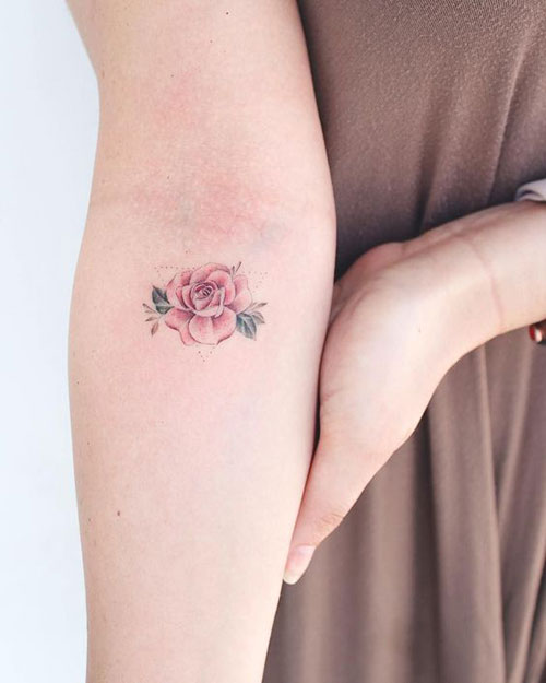 Small Rose Tattoos for Girls