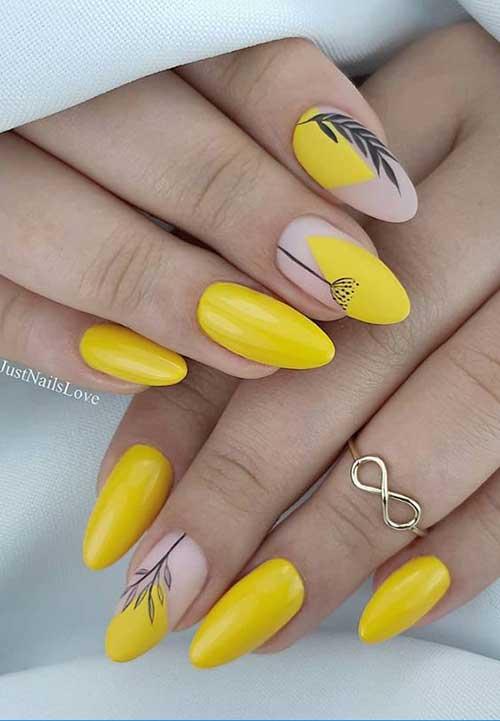 Almond Nail Designs-11
