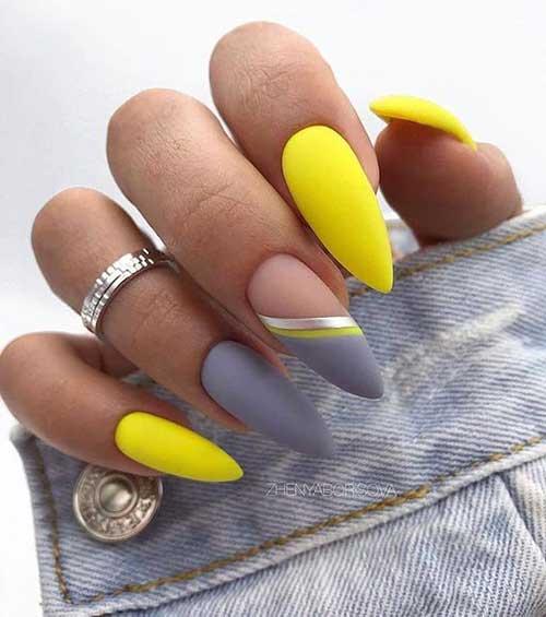 Almond Nail Designs-12