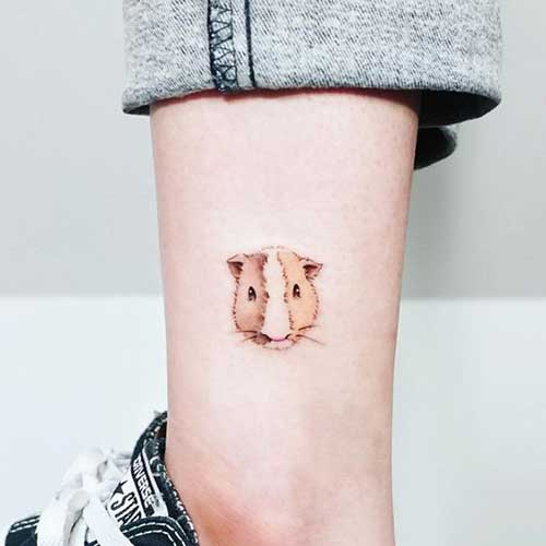 Cute Simple Animal Tattoos-12