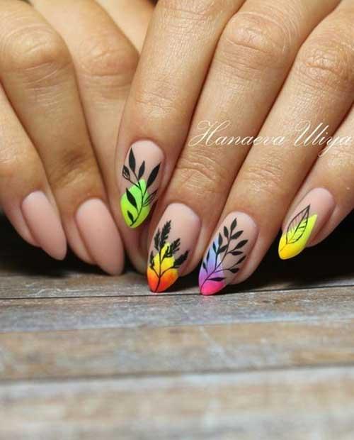 Almond Nail Designs-13