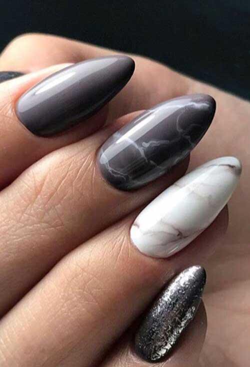 Almond Nail Designs-16