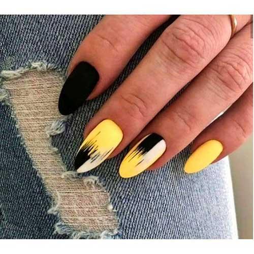 Almond Nail Designs-19