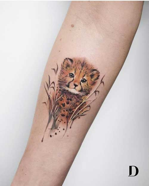 Cute Simple Animal Tattoos-8