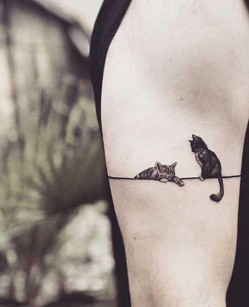 Cute Simple Animal Tattoos