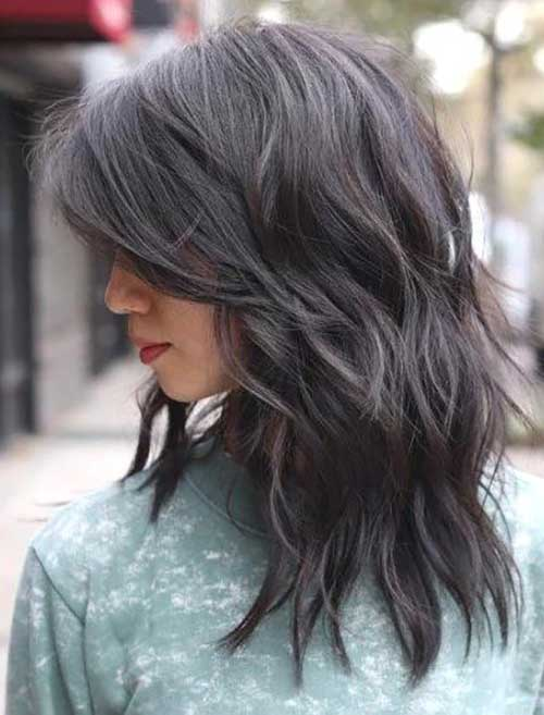 Short Medium Layered Haircuts-13