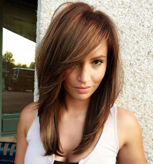 Short Medium Layered Haircuts-20