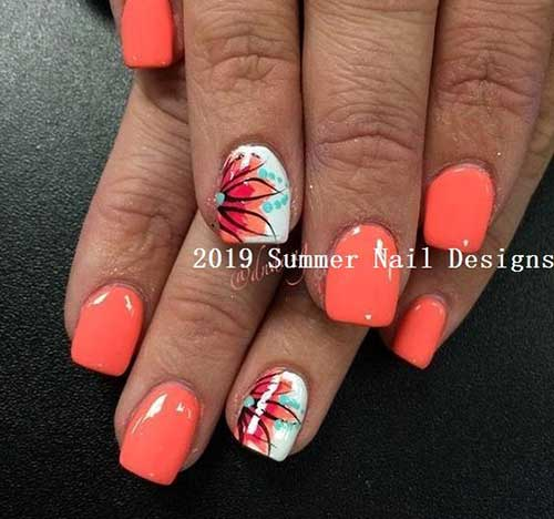 Coral Nail Ideas-6