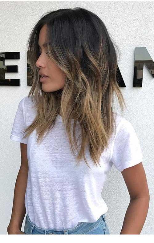 Short Medium Layered Haircuts-9