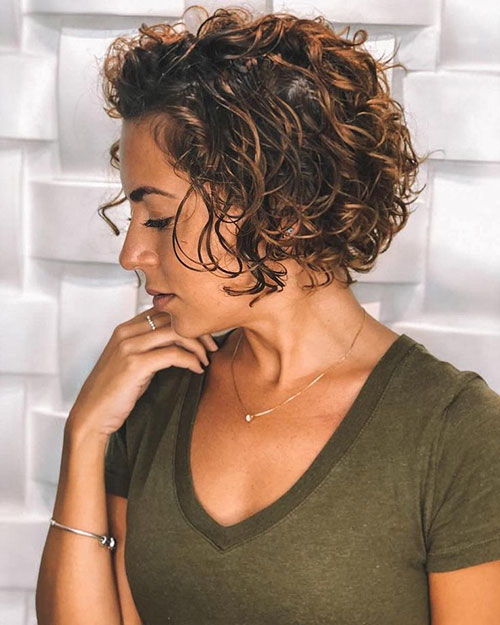 Nice Curls For Short Hair
