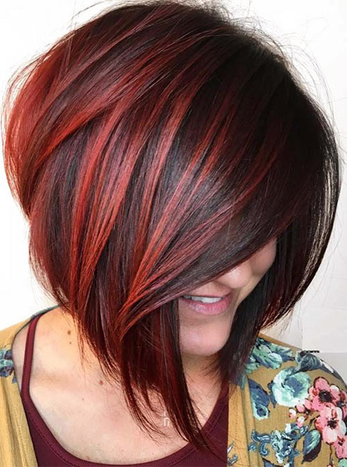 Bob Red Hairstyles