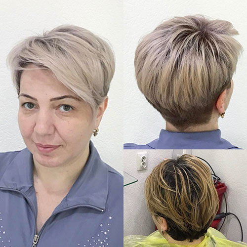 Short Hair For Round Faces And Thin Hair