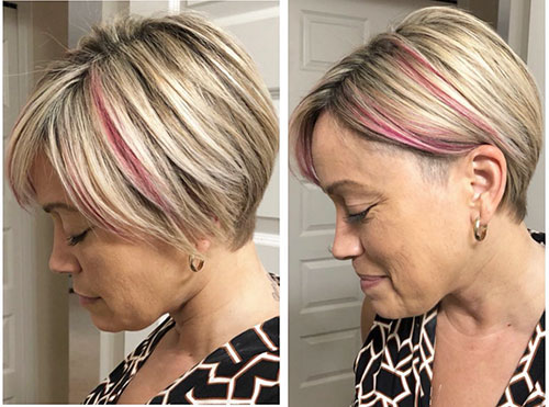 Short Haircuts For Round Faces And Thin Hair