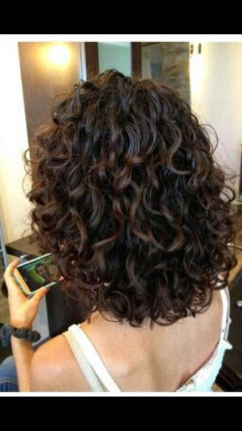 Long Curly Bob