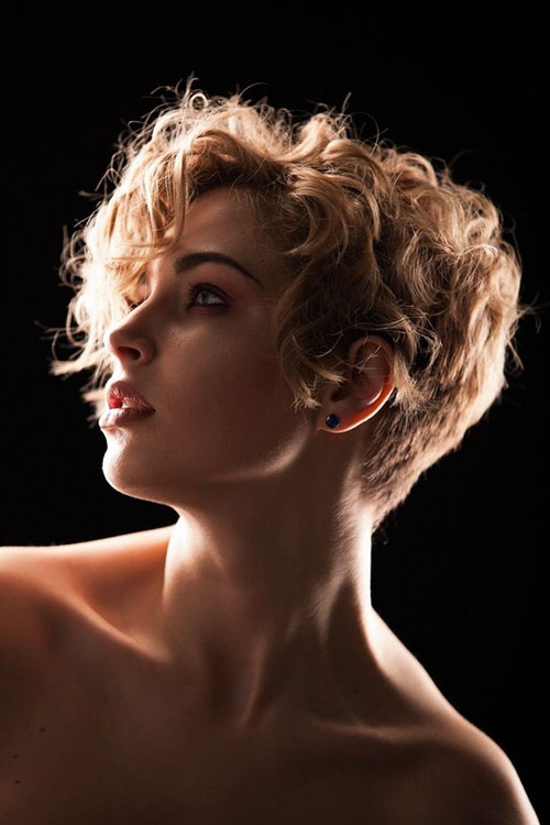 Short Hair And Curls