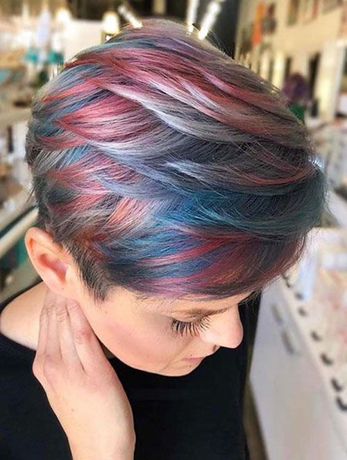 Pixie Hair Colour