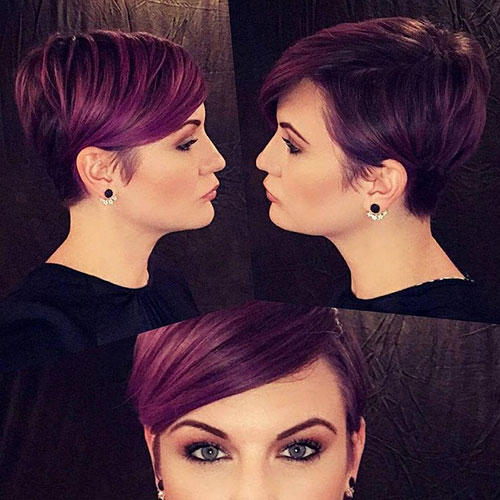 Hair Color Ideas For Pixie Cuts