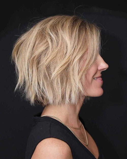 New Short Layered Haircuts