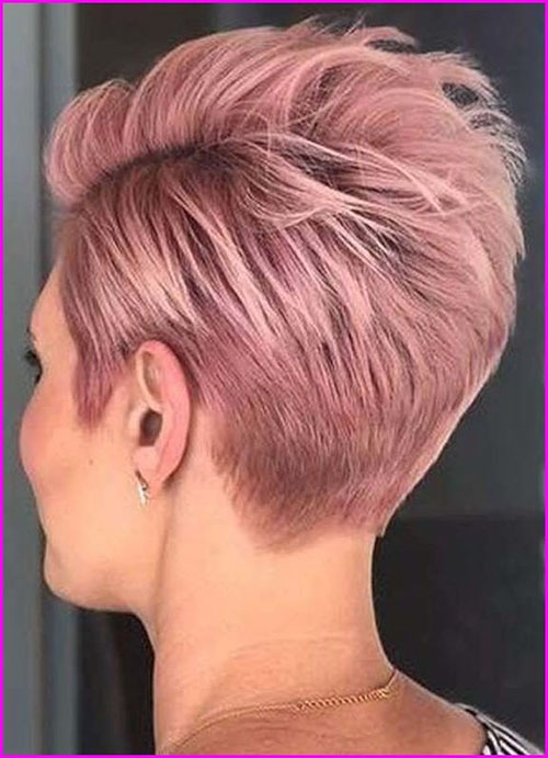 Newest Pixie Hair Colour