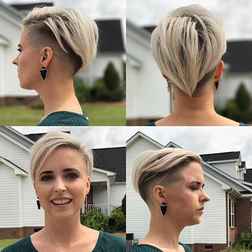 Best Short Haircut For Round Faces And Thin Hair