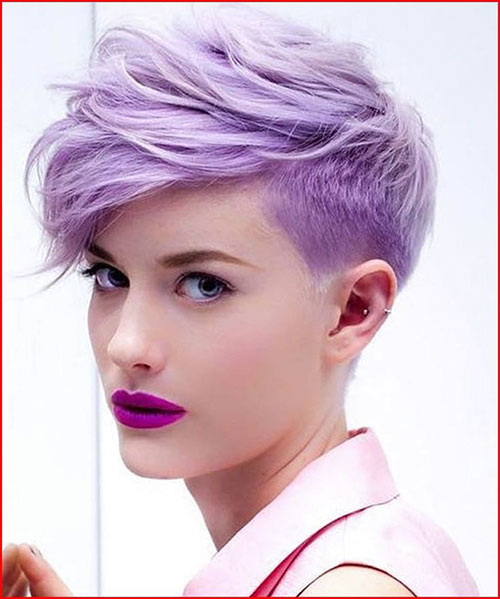 Pixie Hair With Colour