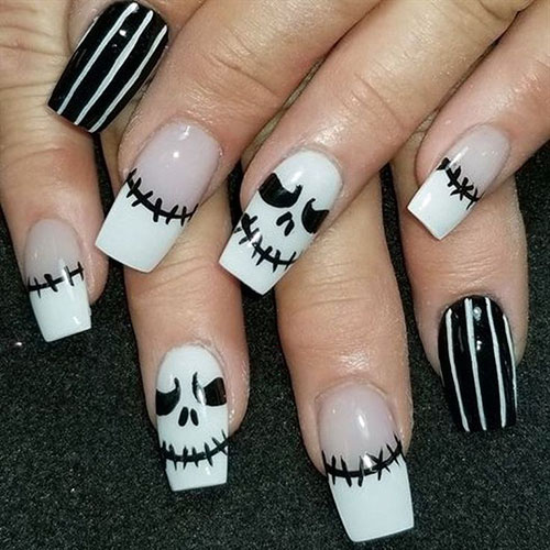 20 Spooky Halloween Nail Art Ideas - Styles 2020