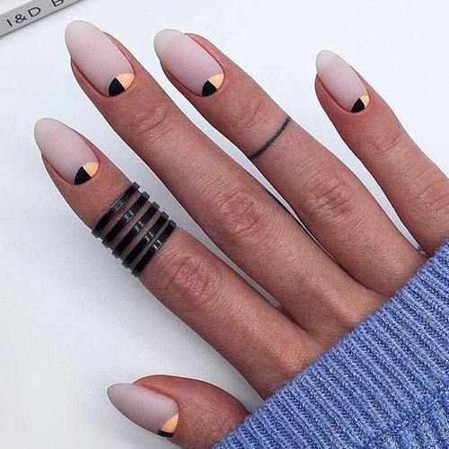 Narrow Oval Nails