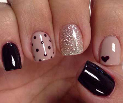 Birthday Nail Art Designs