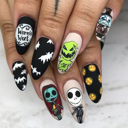 Cool Halloween Nail Art