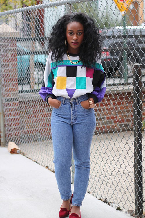 Black Girl 90S Outfits