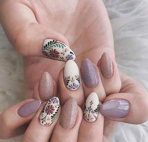 Nail Art Designs With Stones