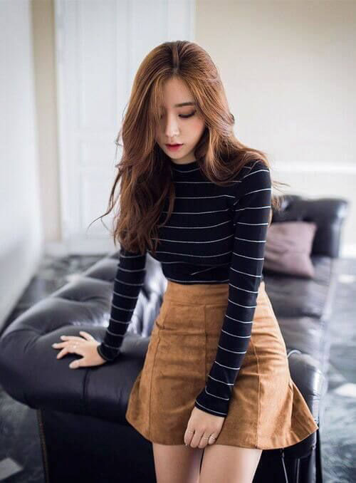 Fall Skirt Outfits