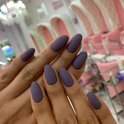 Oval False Nails