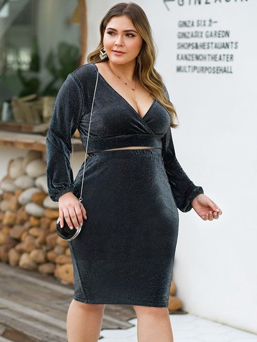 Plus Size Two Piece Outfits