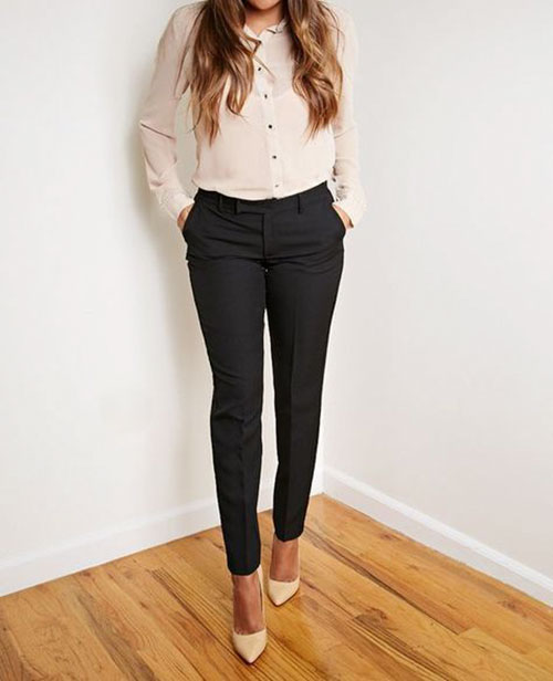 Stylish Job Interview Outfits Women