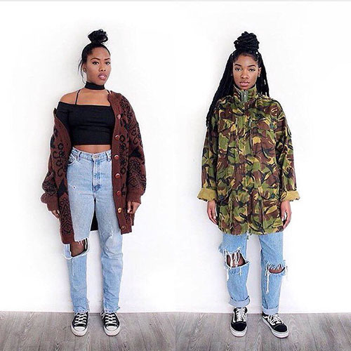 90S Black Girl Outfits