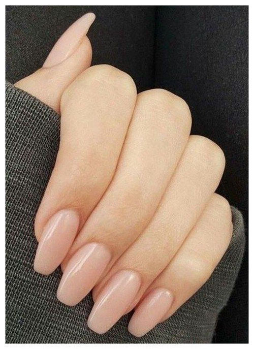 Skinny Almond Nails