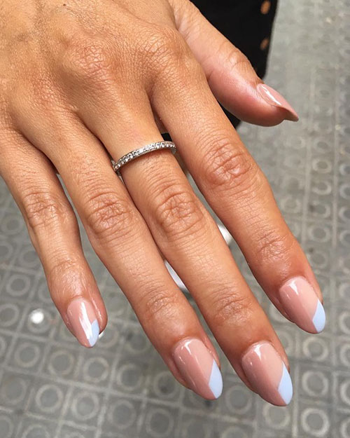 Almond Cut Nails