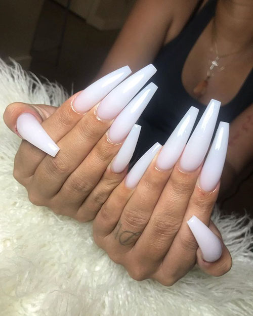 Nails Acrylic White