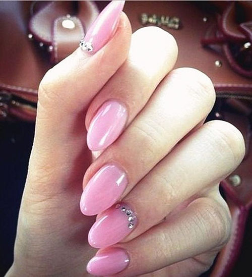 Almond False Nails