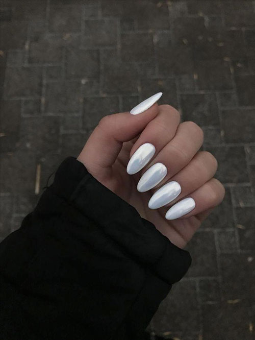 Almond Milk Nails