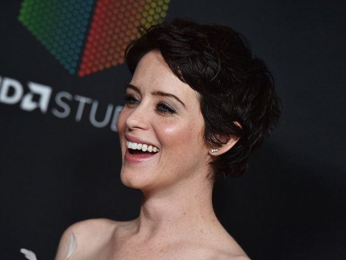 Short Hairstyle by Claire Foy