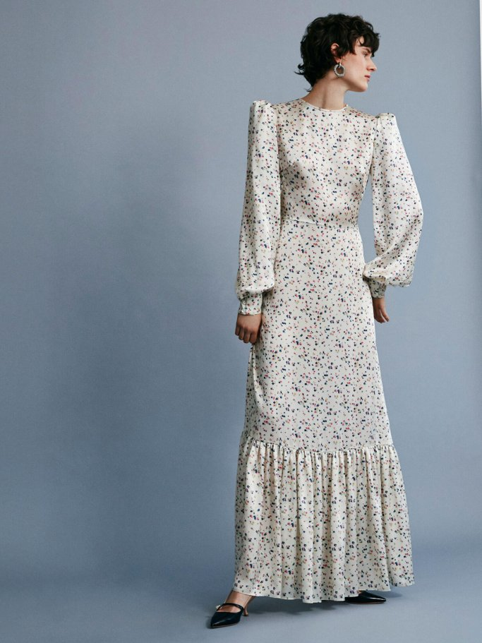flowing maxidress from the new capsule collection of the label 'The Vampire's Wife'